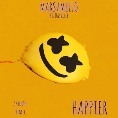 متن و ترجمه و دانلود آهنگ Happier از Bastille و Marshmello
